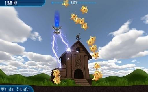 Скриншот Chicken Invaders 5 для Android