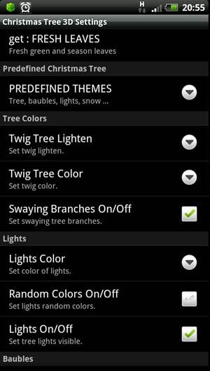 Скриншот Christmas Tree 3D для Android