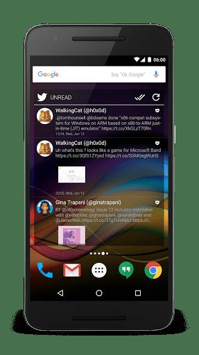 Скриншот Chronus — виджеты для Android