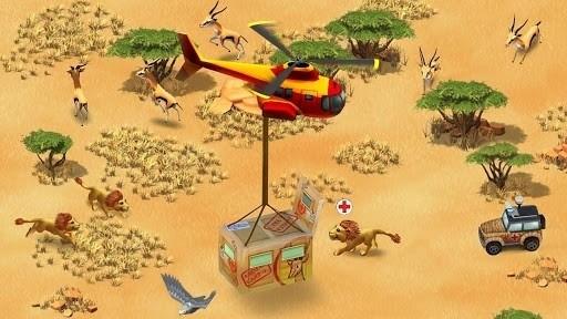 Скриншот Чудо зоопарк–Спасение животных / Wonder Zoo — Animal rescue для Android