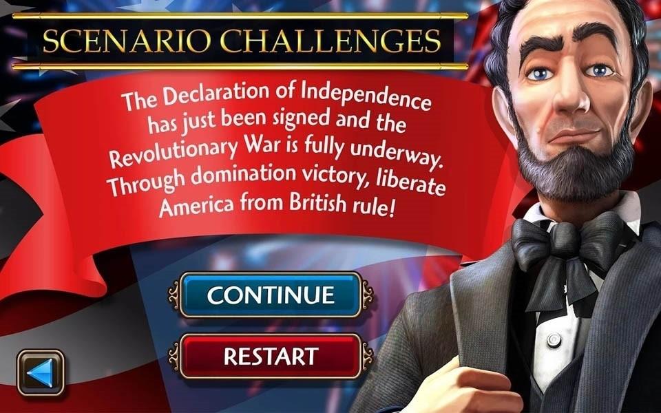 Скриншот Civilization Revolution для Android