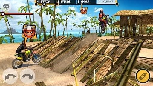 Скриншот Clan Race для Android