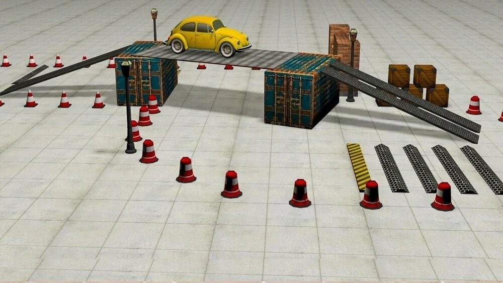 Скриншот Classic Car Parking для Android