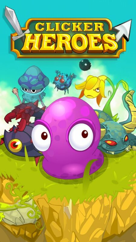 Скриншот Clicker Heroes для Android
