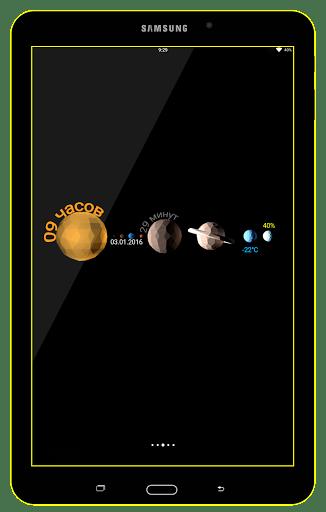 Скриншот Clock Maker для Android