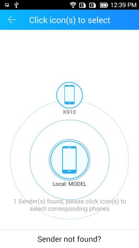 Скриншот CLONEit для Android