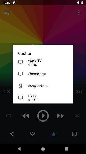 Скриншот CloudPlayer для Android