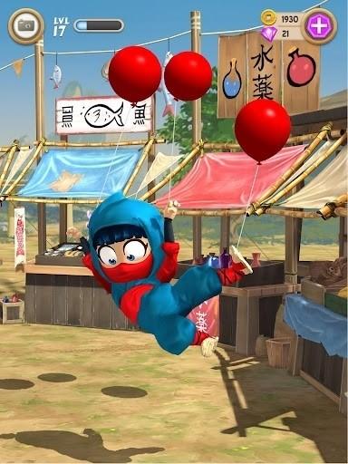 Скриншот Clumsy Ninja для Android