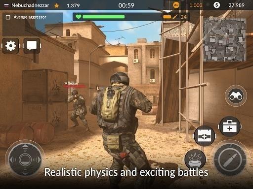 Скриншот Code of War: Стрелялка онлайн для Android