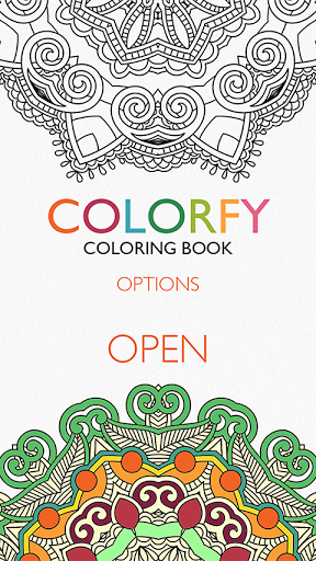 Скриншот Colorfy — тная раскраска для Android