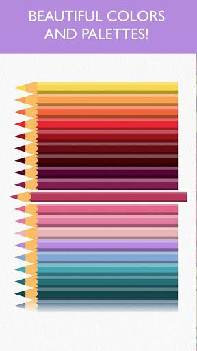 Скриншот Colorfy — тная раскраска для Android