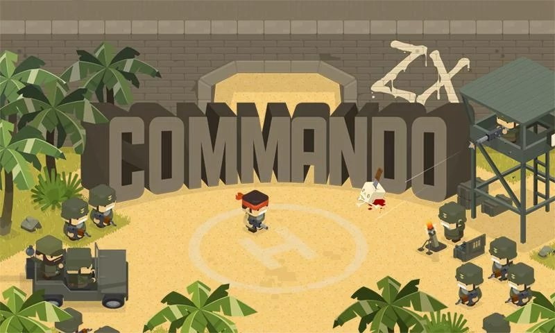 Скриншот Commando ZX для Android