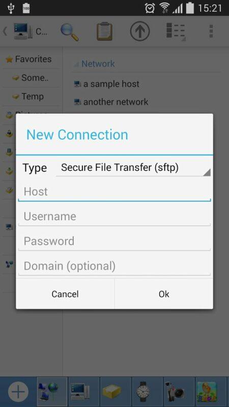 Скриншот Computer File Explorer для Android