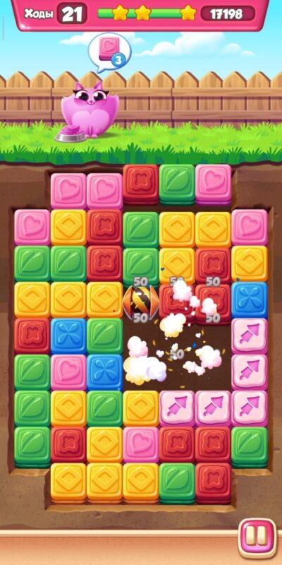 Скриншот Cookie Cats Blast для Android