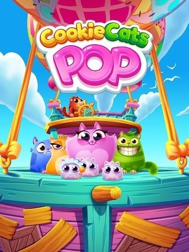 Скриншот Cookie Cats Pop для Android