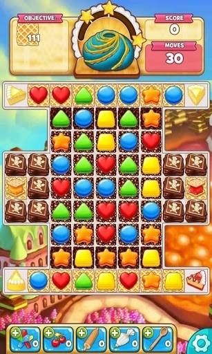 Скриншот Cookie Jam для Android
