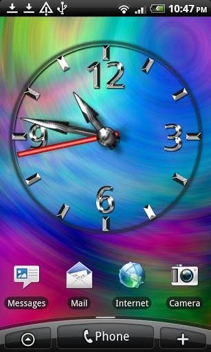 Скриншот Cool Clock FREE для Android