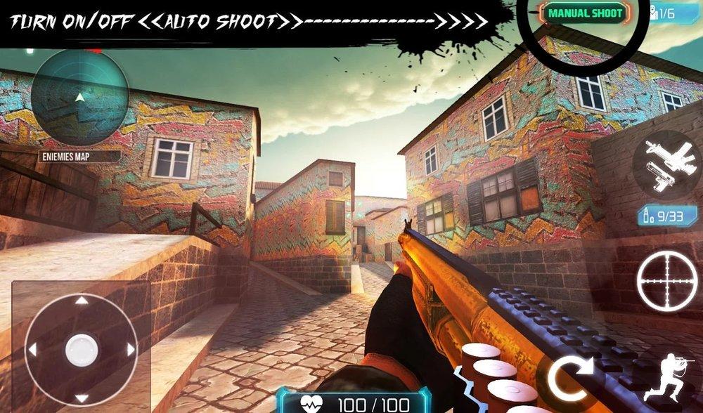 Скриншот Counter Terrorist 2 Gun Strike для Android