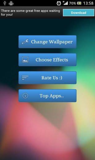 Скриншот Crack экрана Live Wallpaper / Crack Screen Live Wallpaper для Android