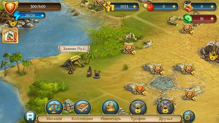 Скриншот Cradle of Empires для Android