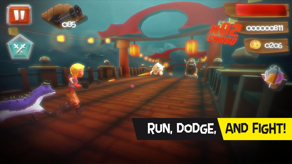 Скриншот Crashland Heroes для Android