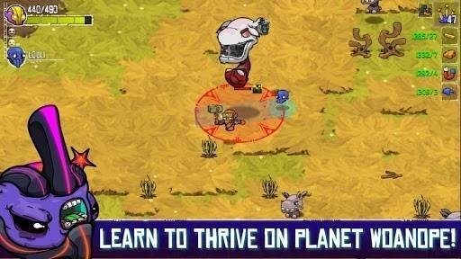 Скриншот Crashlands для Android