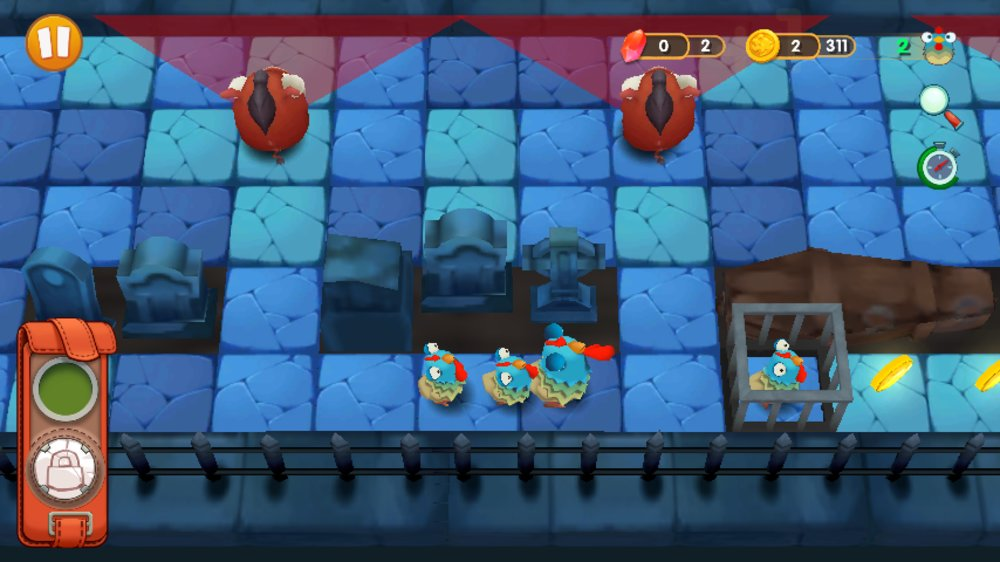 Скриншот Crazy Chicken для Android