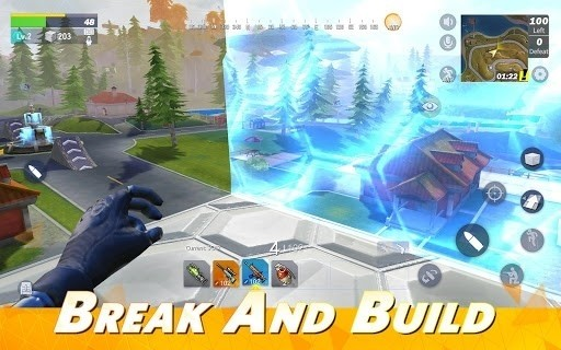 Скриншот Creative Destruction для Android