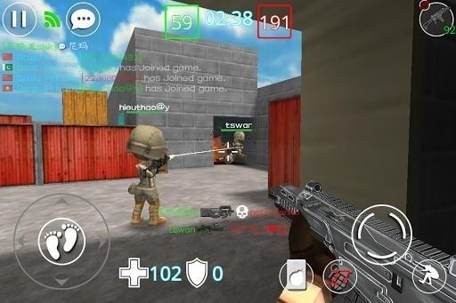 Скриншот Critical Strikers Online FPS для Android