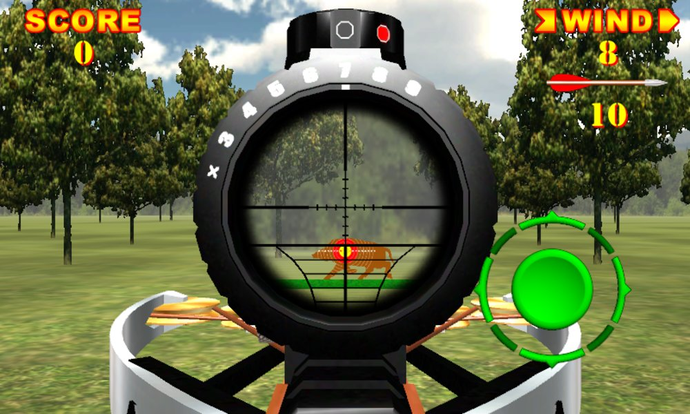Скриншот Crossbow Shooting 3D для Android