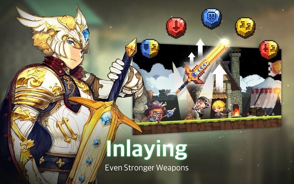 Скриншот Crusaders Quest для Android