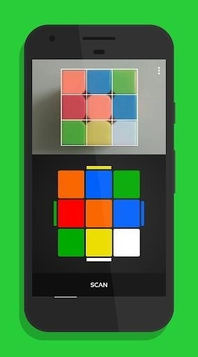 Скриншот CubeX Cube Solver для Android