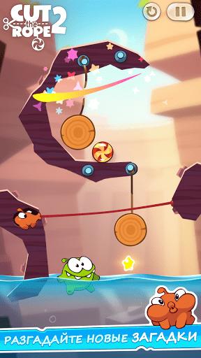 Скриншот Cut the Rope 2 для Android