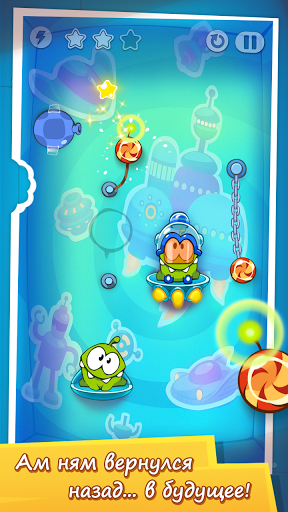 Скриншот Cut the Rope: Time Travel для Android