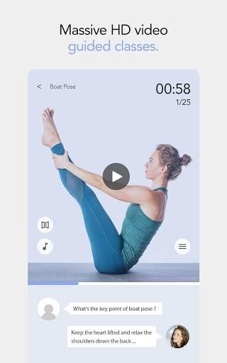 Скриншот Daily Yoga для Android