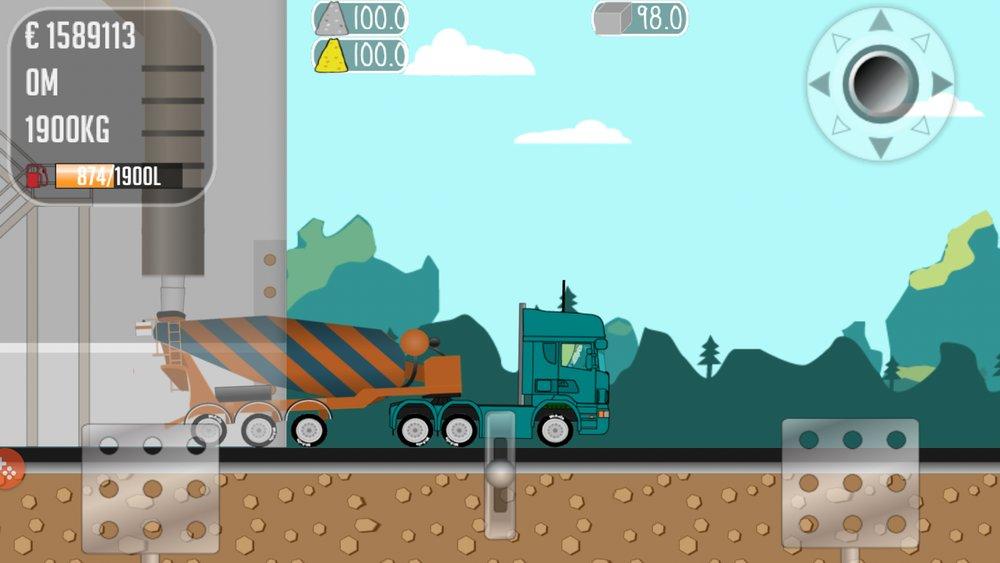 Скриншот Дальнобойщик Джо для Android