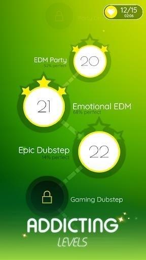 Скриншот Dancing Ballz: Music Line для Android