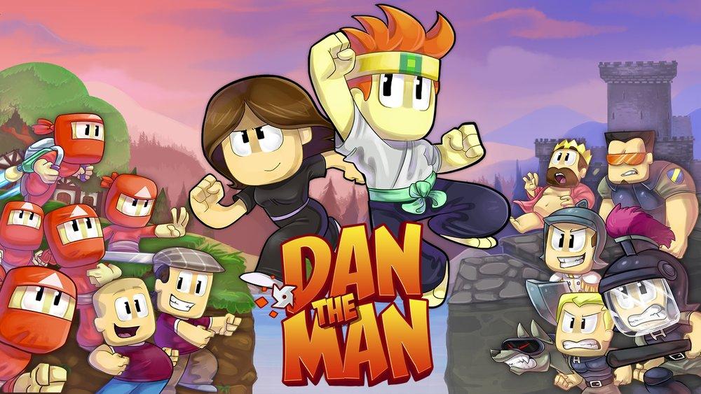 Скриншот Dan The Man для Android