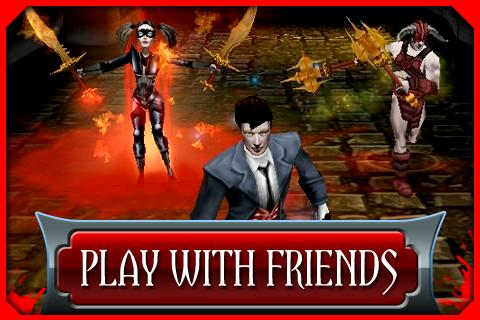 Скриншот Dark Legends для Android
