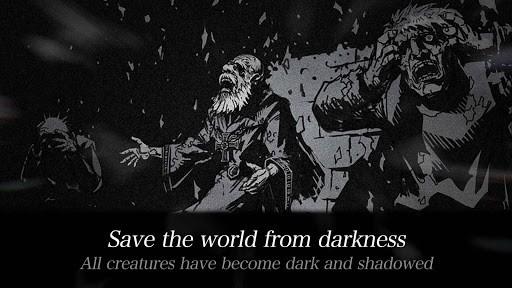 Скриншот Dark sword для Android