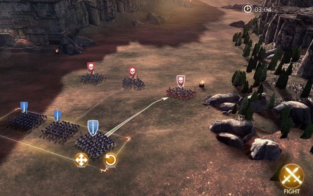 Скриншот Dawn of Titans для Android