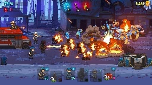 Скриншот Dead Ahead: Zombie Warfare для Android