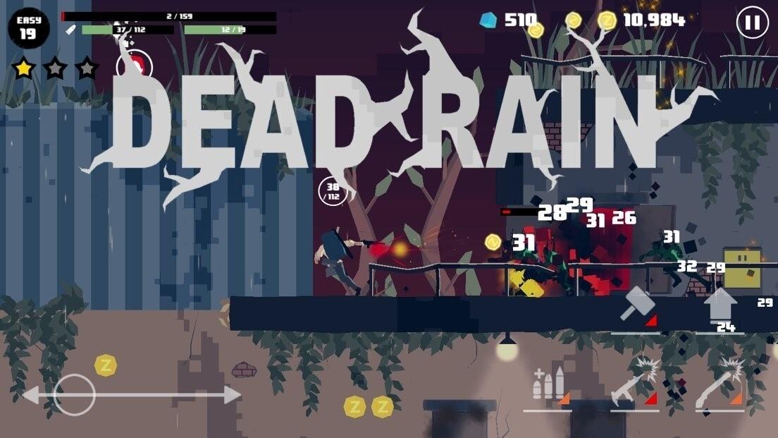 Скриншот Dead Rain: Новый вирус зомби для Android