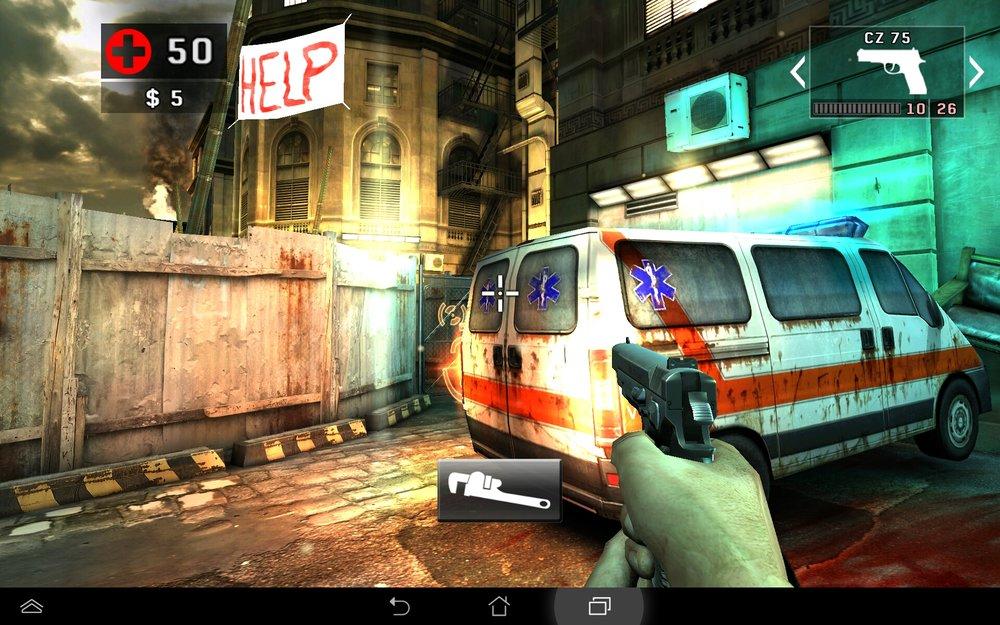 Скриншот DEAD TRIGGER 2 для Android