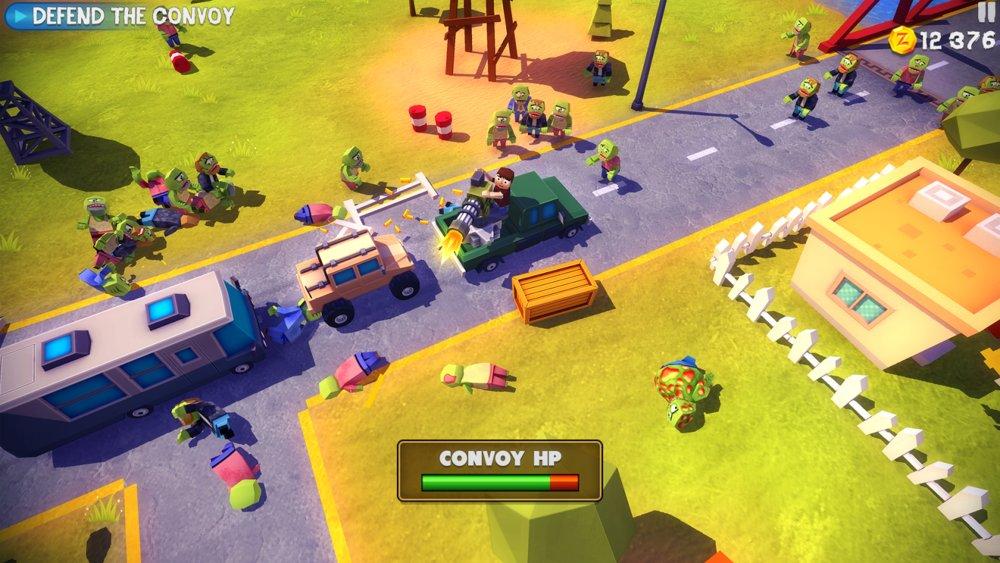 Скриншот Dead Venture: Zombie Survival для Android