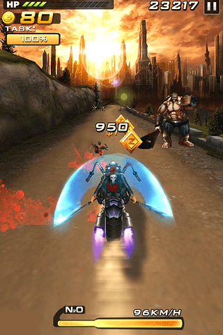 Скриншот Death Moto 2 для Android