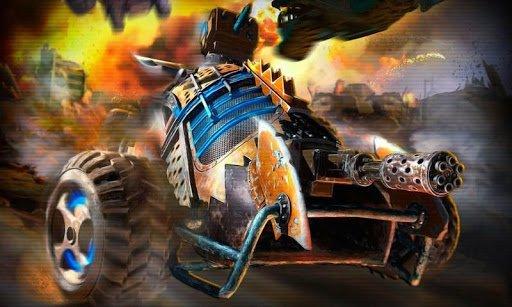 Скриншот Death racing: Road Killer для Android