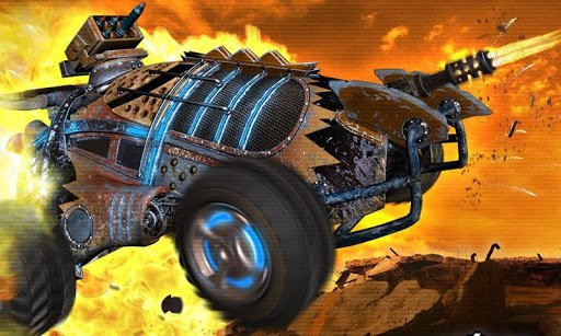 Скриншот Death racing: Road Killer для Android