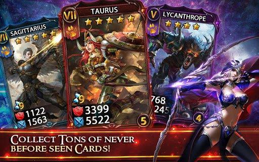 Скриншот Deck Heroes для Android