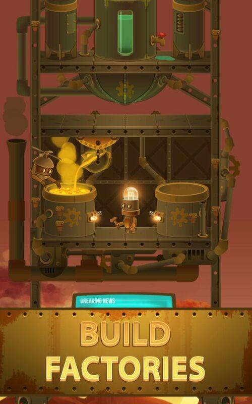 Скриншот Deep Town: Mining Factory для Android